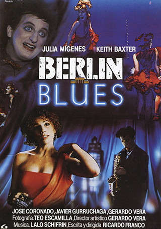 Cartel de Berlín Blues