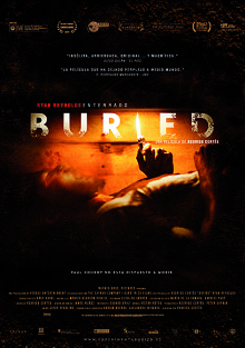 Cartel de Buried - Enterrado