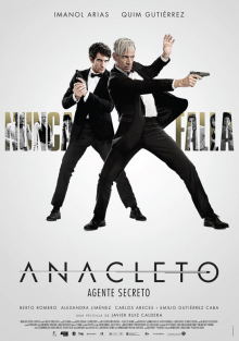 Cartel de Anacleto: agente secreto