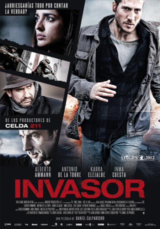 Cartel de Invasor