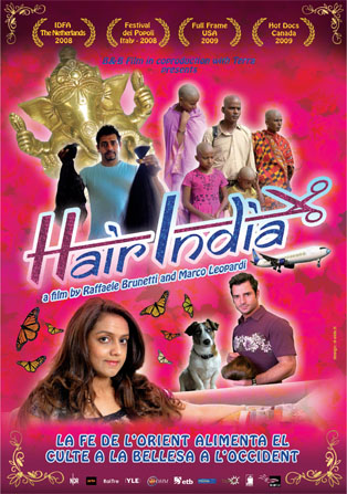 Cartel de Hair India