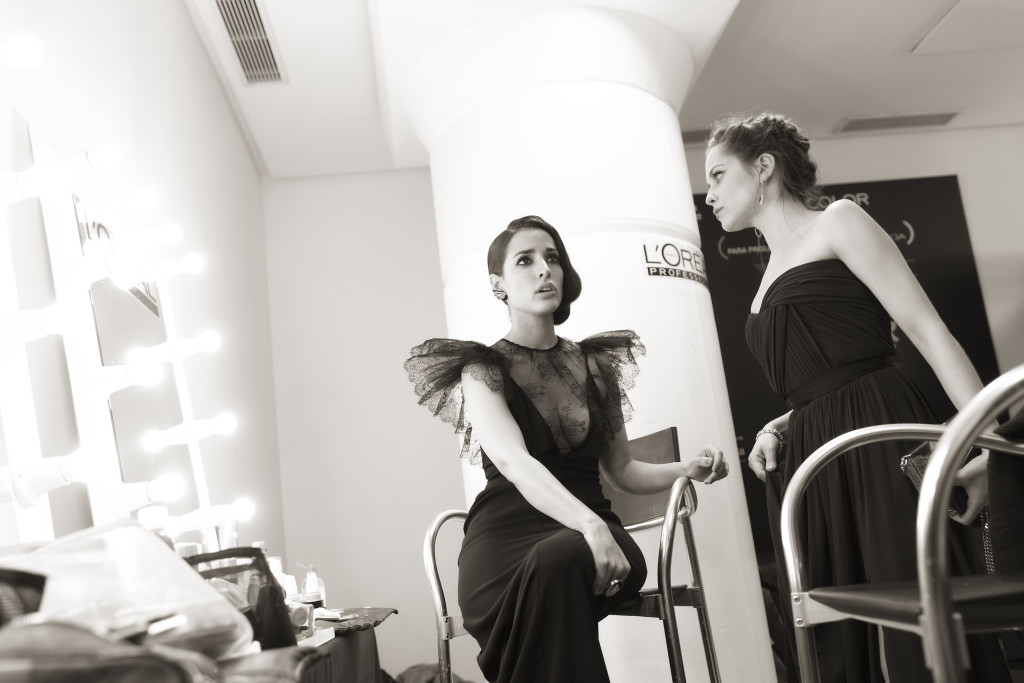 Backstage 26 remios Goya 2012 Madrid 19 02 12 © Enrique Cidoncha