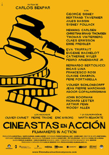 Cartel de Cineastas en acción