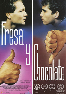Cartel de Fresa y chocolate