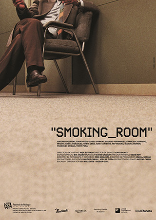 Cartel de Smoking Room