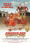 Cartel de Chicken Run: Evasión en la granja