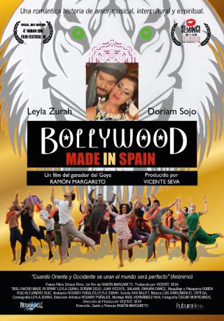 Cartel de Bollywood Made in Spain