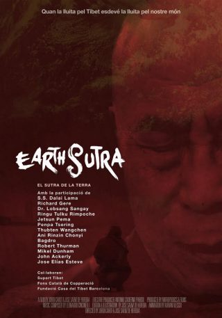 Cartel de Earth Sutra
