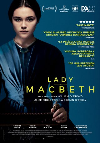 Cartel de Lady Macbeth