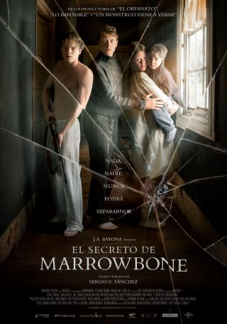 Cartel de El secreto de Marrowbone