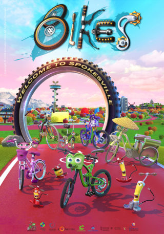 Cartel de Bikes The Movie