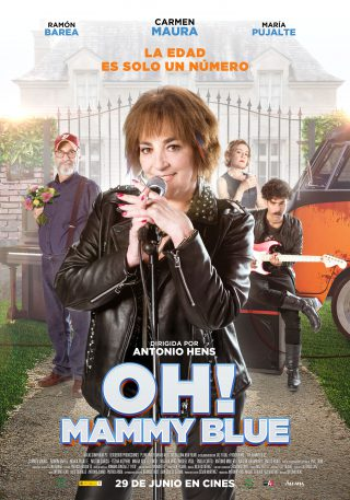 Cartel de Oh! Mammy Blue