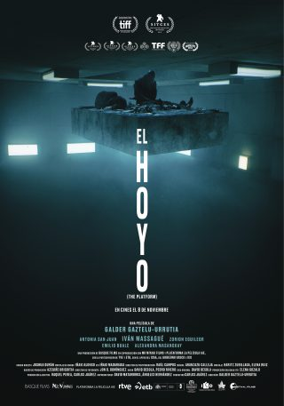 Cartel de El hoyo (The Platform)