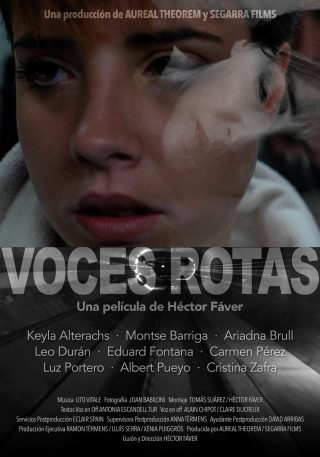 Cartel de Voces rotas